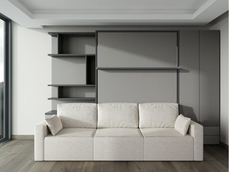 Double Wardrobe Bi-Fold Door