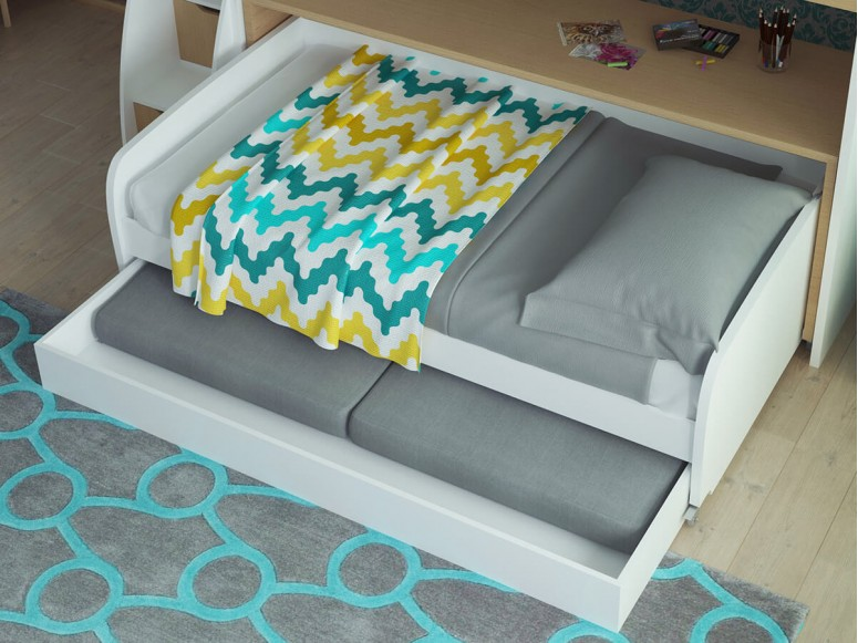 Twin XL Sofa Bed with Trundle