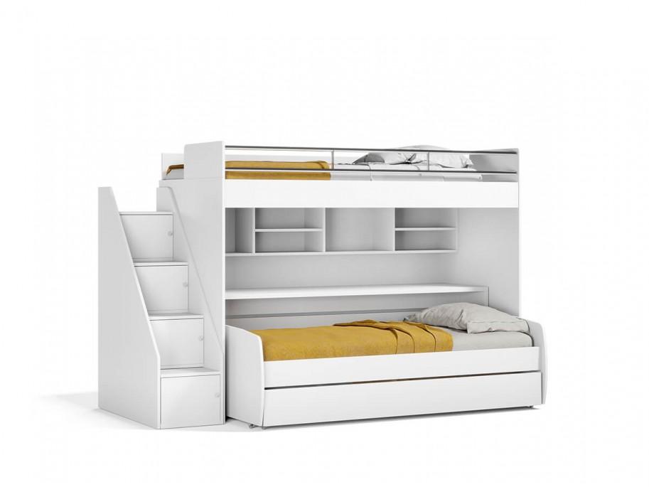 Eco Bel Mondo Twin Over Twin XL Bunk Bed Set