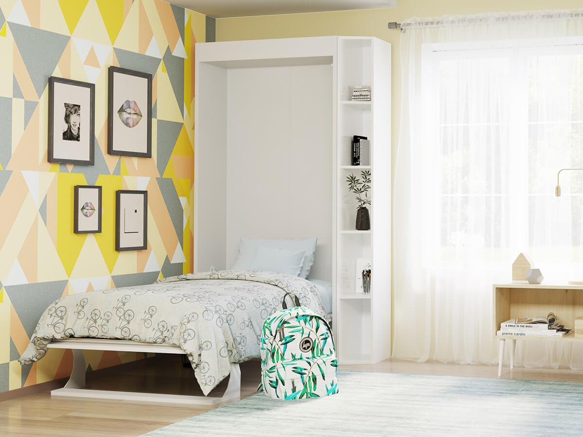 Bellezza Piccola Twin Wall Bed Twin