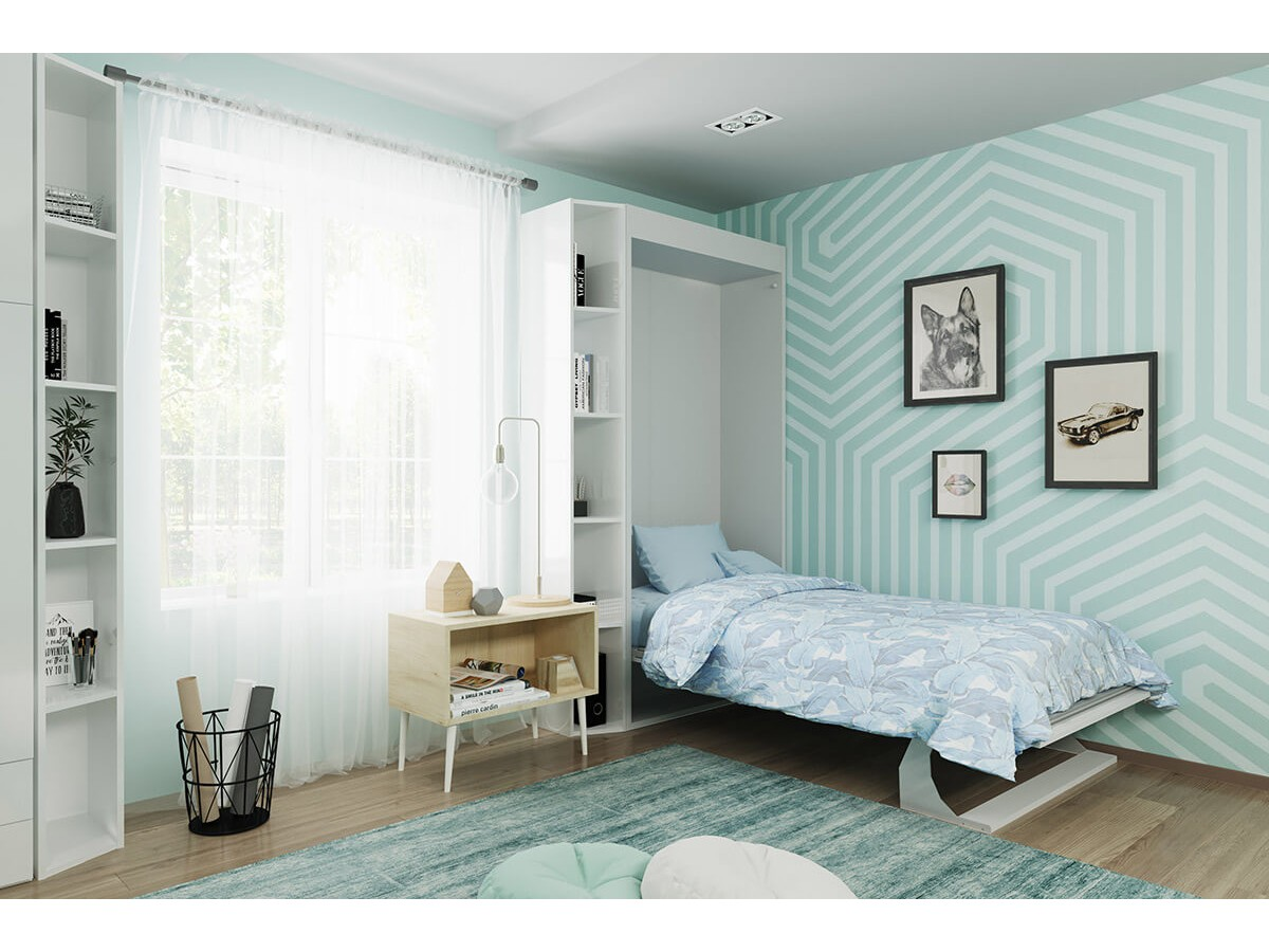 Twin Wall Bed Bellezza Piccola