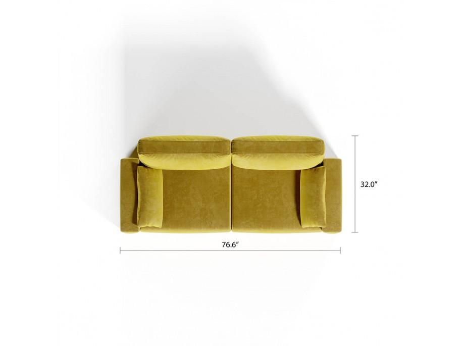 Royal Vertical Queen 2 Seat Sofa