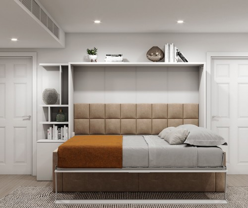 Royal Horizontal Queen Wall Bed 1