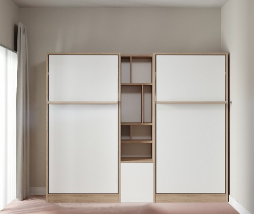 Royal Twin / Twin XL Wall Bed 1