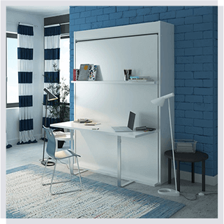 queen wall bed desk. Bellezza Queen Size Wall Bed With Desk