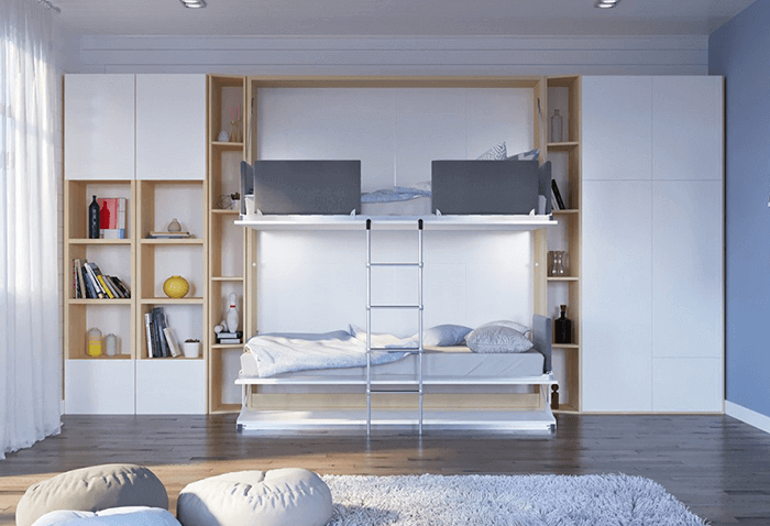 Cross Module Bookcase